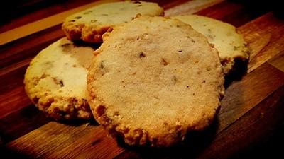 Pistachio Shortbread Cookie