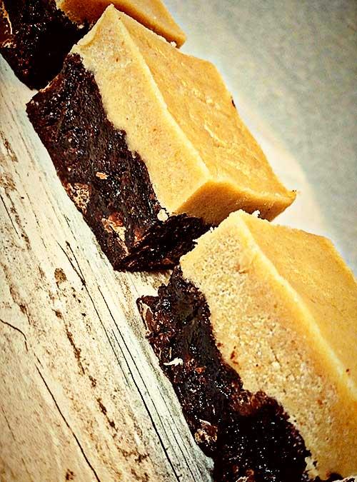 Black and White Brownie Bar by Slade Grove