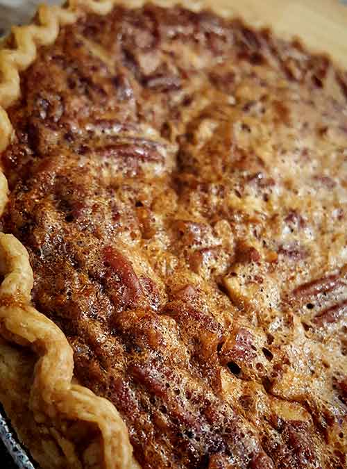 Browned Butter Southern Pecan Pie by Slade Grove