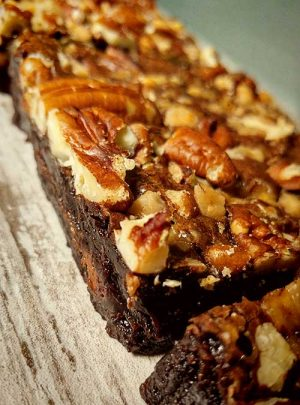 Pecan Toffee Double Chocolate Brownie by Slade Grove