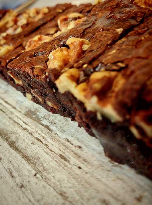 Walnut Double Chocolate Brownie by Slade Grove