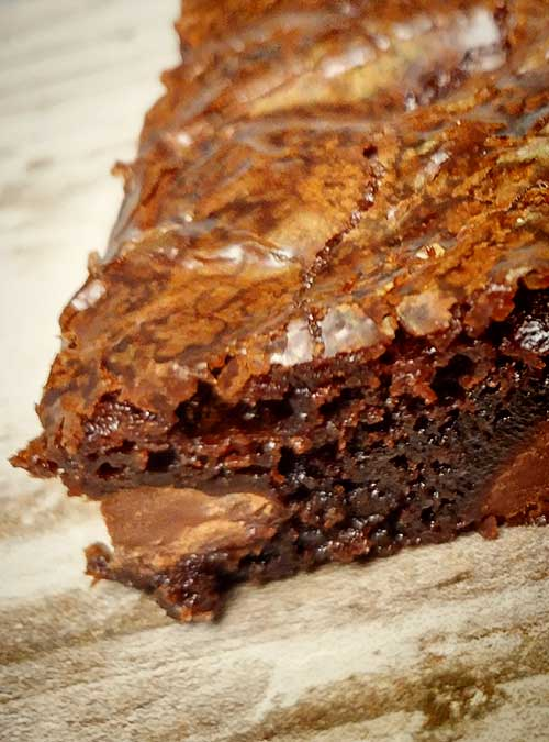Double Chocolate Brownie by Slade Grove