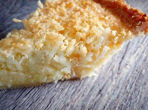 Coconut Pie Slice by Slade Grove