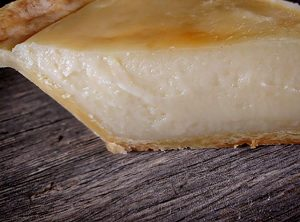 Creme Brulee Pie by Slade Grove