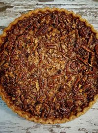 Jim Beam Kentucky Fire Browned Butter Bourbon Pecan Pie