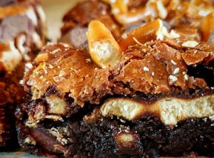 Pretzel Caramel Brownie by Slade Grove