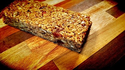 Spiced Coconut Papaya Granola Bar