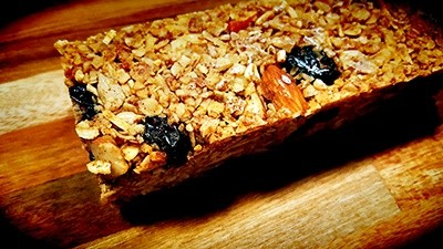 Cranberry Almond Granola Bar