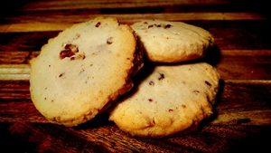 Toasted Pecan Shortbread Cookie