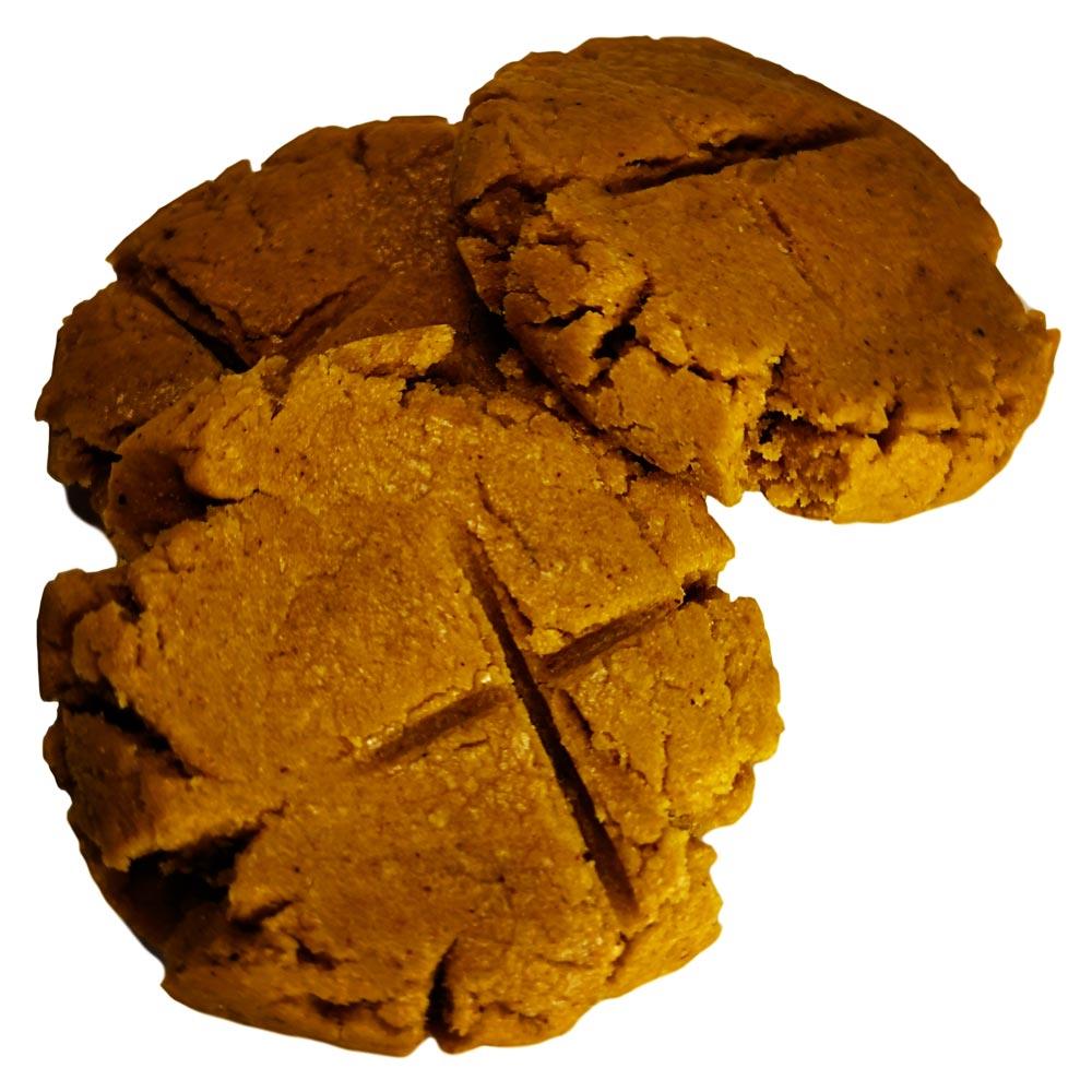 Peanut Butter Ginger Dog Treat