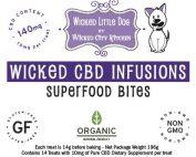 CBD Superfood Dog Treat