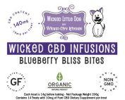 Blueberry Bliss CBD Pet Treat
