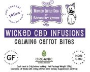 Calming Carrot CBD Pet Treat