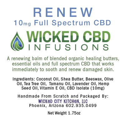 Renew Hemp Oil Balm