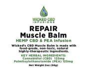 Repair CBD Hemp Oil Muscle Balm