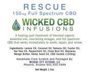 Rescue Hemp Oil Infused Healing Balm